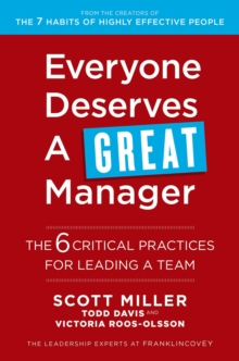 Everyone Deserves a Great Manager, Paperback / softback Book