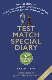 Test Match Special Diary, Hardback Book