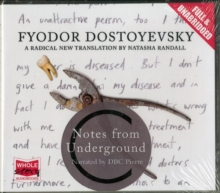 Notes From Underground, CD-Audio Book