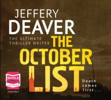 The October List, CD-Audio Book
