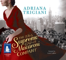 The Supreme Macaroni Company, CD-Audio Book