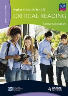 Higher English for CfE: Critical Reading, Paperback Book