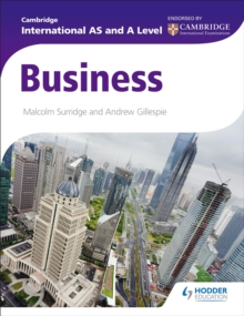 Cambridge International AS and A Level Business, EPUB eBook