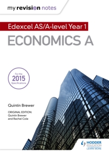 My Revision Notes: Edexcel AS Economics Second Edition, Paperback / softback Book