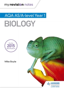 My Revision Notes: AQA AS Biology Second Edition, Paperback / softback Book