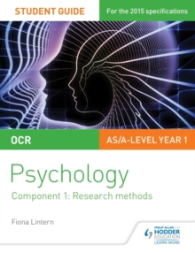 OCR Psychology Student Guide 1: Component 1: Research methods, EPUB eBook