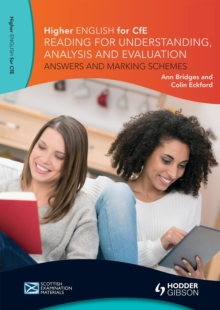Higher English: Reading for Understanding, Analysis and Evaluation - Answers and Marking Schemes, EPUB eBook