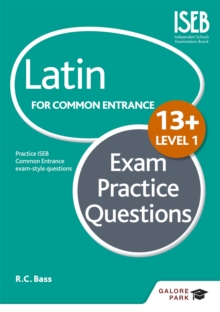 Latin for Common Entrance 13+ Exam Practice Questions Level 1, Paperback / softback Book