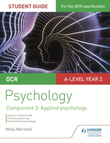 OCR Psychology Student Guide 3: Component 3 Applied psychology, EPUB eBook
