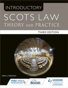 Introductory Scots Law Third Edition : Theory and Practice, Paperback Book