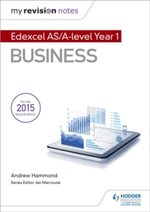 My Revision Notes: Edexcel AS Business, Paperback Book