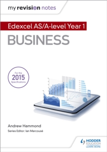 My Revision Notes: Edexcel AS Business, EPUB eBook