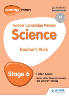 Hodder Cambridge Primary Science Teacher's Pack 6, PDF eBook