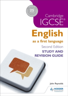 Cambridge IGCSE English First Language Study and Revision Guide, Paperback Book