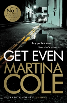 Get Even : A dark thriller of murder, mystery and revenge, Paperback Book