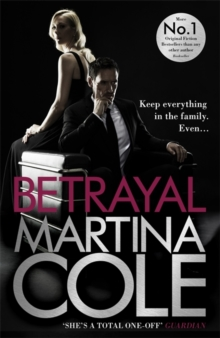 Betrayal : A gripping suspense thriller testing family loyalty, Hardback Book