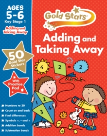 Gold Stars Adding and Taking Away Ages 5-6 Key Stage 1,  Book