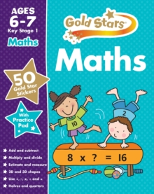 Gold Stars Maths Ages 6-7 Key Stage 1,  Book