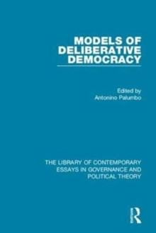 Models of Deliberative Democracy, Hardback Book