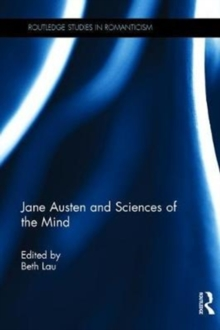 Jane Austen and Sciences of the Mind, Hardback Book