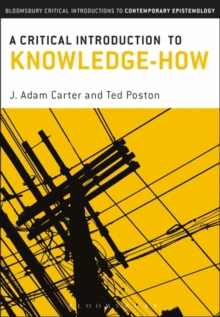 A Critical Introduction to Knowledge-How, Paperback / softback Book