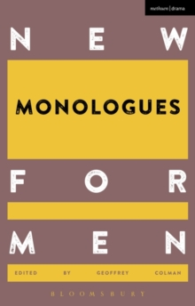 New Monologues for Men, Paperback Book