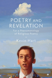 Poetry and Revelation : For a Phenomenology of Religious Poetry, Hardback Book