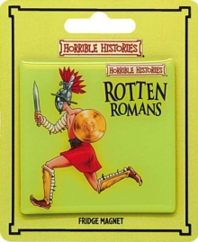 ROTTEN ROMANS EPOXY MAGNET,  Book