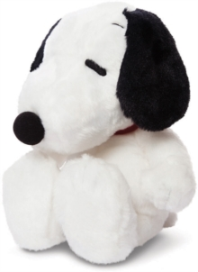SNOOPY SITTING 11 INCH SOFT TOY,  Book