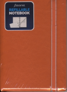 FILOFAX REFILLABLE A5 NOTEBOOK ORANGE,  Book