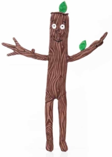 STICK MAN 12 INCH SOFT TOY,  Book
