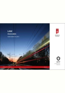 ICAEW Law : Passcards, Spiral bound Book