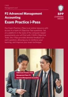 CIMA P2 Advanced Management Accounting : Exam Practice i-Pass, Online resource Book
