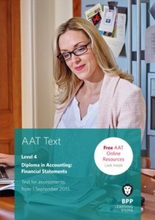 AAT Financial Statements : Study Text, Paperback Book