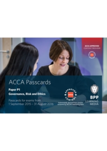 ACCA P1 Governance, Risk and Ethics : Passcards, Spiral bound Book