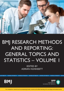 BMJ Research Methods & Reporting: General Topics & Statistics : Study Text, Paperback Book