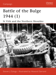 Battle of the Bulge 1944 (1) : St Vith and the Northern Shoulder, EPUB eBook