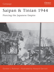 Saipan & Tinian 1944 : Piercing the Japanese Empire, EPUB eBook