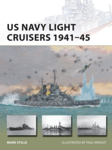 US Navy Light Cruisers 1941-45, Paperback Book