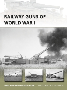 Railway Guns of World War I, Paperback Book