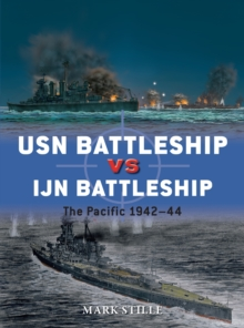 USN Battleship vs IJN Battleship : The Pacific 1942-44, Paperback / softback Book