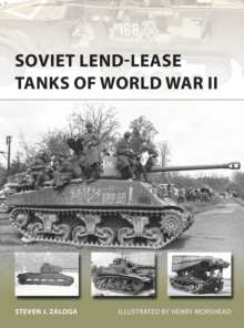 Soviet Lend-Lease Tanks of World War II, Paperback Book