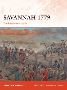 Savannah 1779 : The British turn south, Paperback / softback Book