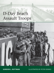 D-Day Beach Assault Troops, Paperback / softback Book