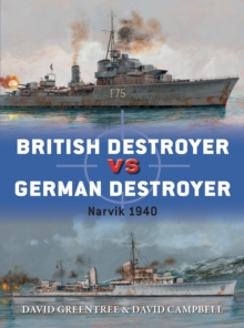 British Destroyer vs German Destroyer : Narvik 1940, EPUB eBook