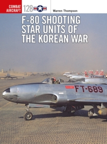 F-80 Shooting Star Units of the Korean War, Paperback / softback Book