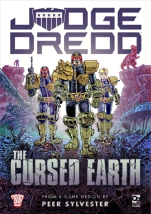 Judge Dredd: The Cursed Earth : An Expedition Game, Game Book