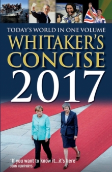 Whitaker's Concise 2017, Paperback Book