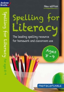 Spelling for Literacy for ages 8-9, Paperback / softback Book