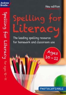 Spelling for Literacy for ages 10-11, Paperback / softback Book